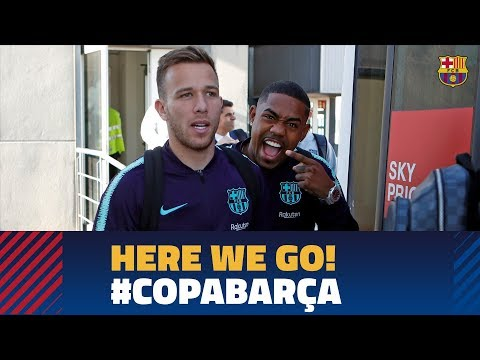Trip to Valencia ahead of the cup match against Levante