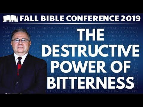 Bob Harbin - The Destructive Power of Bitterness