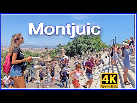 【4K】WALK CATALONIA BARCELONA Spain 4K video HDR TRAVEL vlog