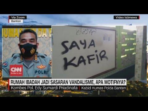 Rumah Ibadah Jadi Sasaran Vandalisme, Apa Motifnya?