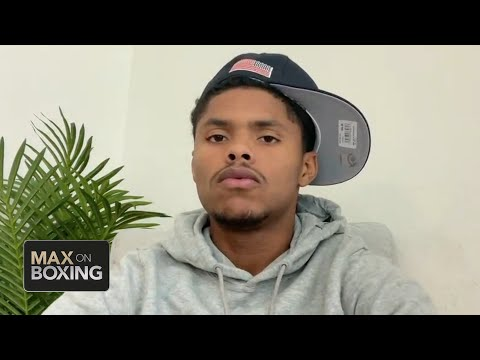 Shakur Stevenson previews his next fight, thoughts on Oscar Valdez   Max on Boxing
