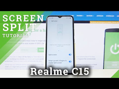 How to Split Screen in REALME C15 – Create Double Screen