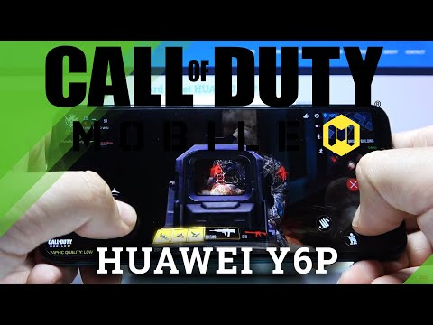 How Call of Duty works on Huawei Y6P - COD Quality Checkup
