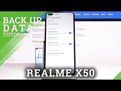 How to Activate Google Backup in REALME X50 5G – Enable Google Backup