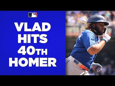 40 HOMERS!! Vlad Guerrero Jr. SMASHES his 40th home run of the season!