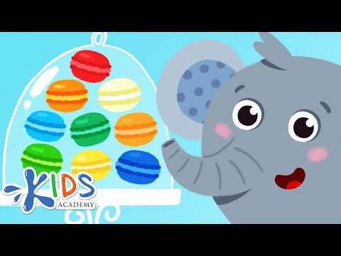 Learn Colors for Kids, Toddlers & Babies: Red, Blue, Yellow, Green, Orange | Kids Academy