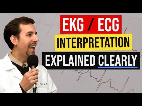 EKG / ECG Interpretation Explained Clearly (MedCram EKG/ECG Course)