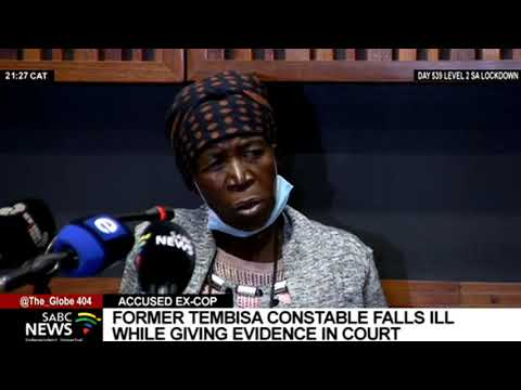 Nomia Ndlovu I Former Tembisa constable falls ill while giving evidence in court