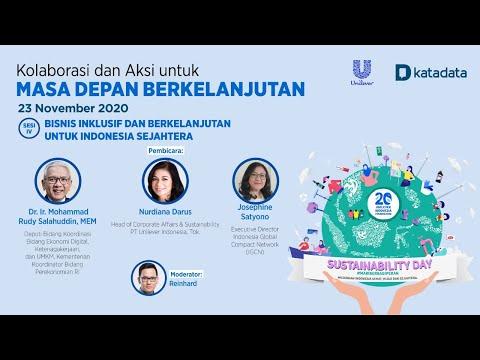 Sesi 4  Unilever Katadata: Sustainability Day 2020