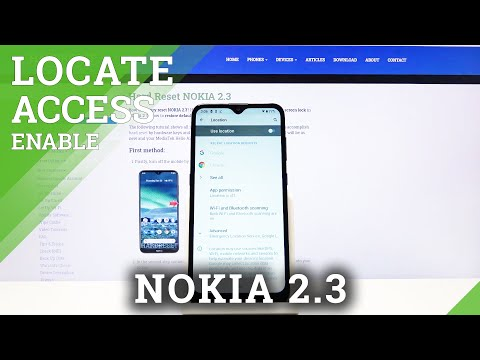 How to Disable Location of Nokia 2.3 - Location Settings