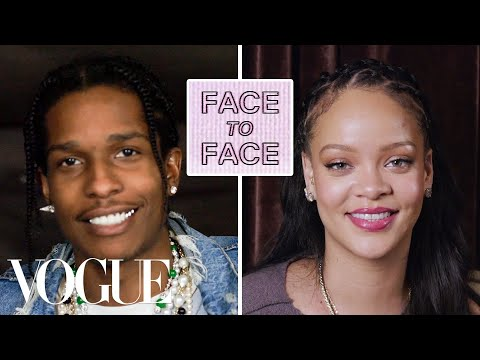 Rihanna Answers 15 Questions From A$AP Rocky | Vogue