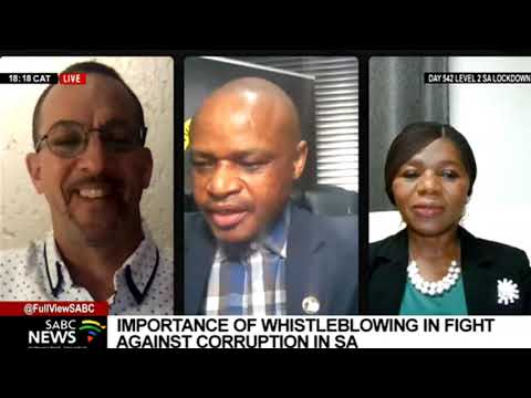 Importance of whistleblowing in fight against corruption in SA