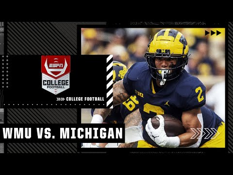 Western Michigan Broncos at Michigan Wolverines | Full Game Highlights