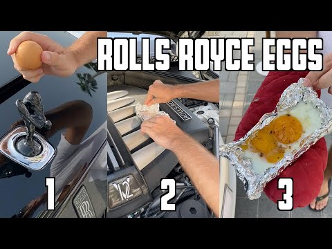 How To Cook The Perfect Egg - Rolls Royce Style!