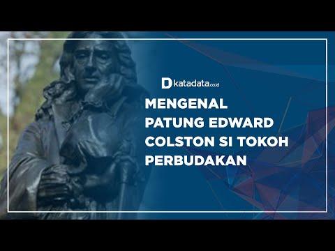 Mengenal Patung Edward Colston Si Tokoh Perbudakan | Katadata Indonesia