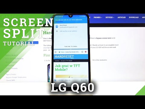 How to Activate Split Screen Feature in LG Q60 – Use Two Apps at the Same Time