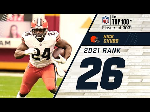 #26 Nick Chubb (RB, Browns) | Top 100 Players in 2021