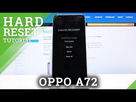 Hard Reset OPPO A72 - Remove Lock Screen