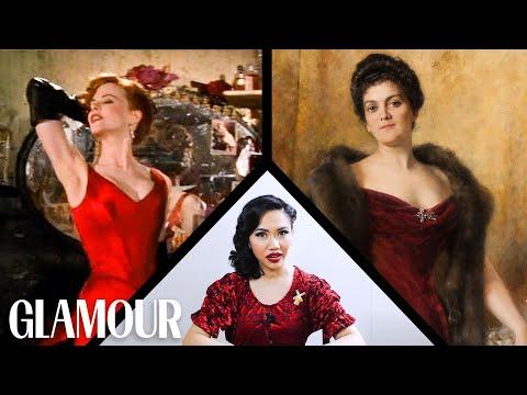 Fashion Expert Fact Checks Moulin Rouge's Wardrobe | Glamour