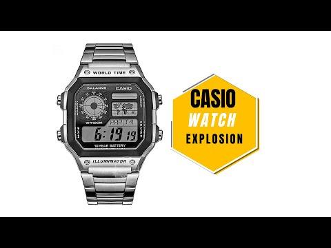 Casio Watch Explosion