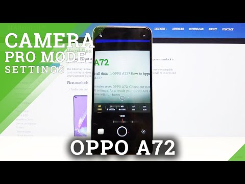 How to Enable Camera Pro Mode in Oppo A72 - Set Up Camera