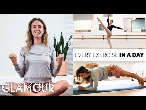 Every Exercise A Pro Ballerina Does In A Day | On Pointe | Glamour
