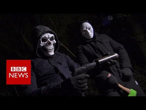 Gun Crime in the UK:  'My kids don't see this side of me' - BBC News