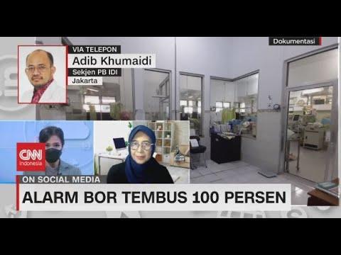 Alarm BOR Tembus 100 Persen