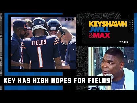 Keyshawn expects Justin Fields to win over the Bears & change Matt Nagy's mind about Dalton | KJM