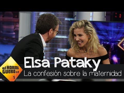 La confesión de Elsa Pataky sobre la maternidad - El Hormiguero 3.0