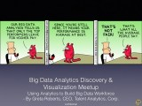 Using Analytics to build A #BigData #Workforce