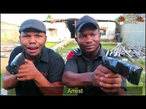 How police arrest ritualists in different countries 😂 (xploit comedy