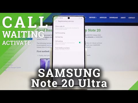 Incoming Call in SAMSUNG Galaxy Note 20 - Animation of Incoming Call