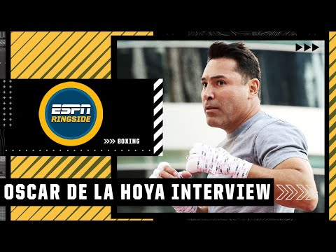 Oscar De La Hoya talks return to boxing, Canelo Alvarez & more | ESPN Ringside