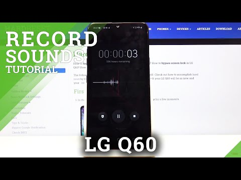 How to Enable Sounds Recording in LG Q60 – Activate Record Sounds Feature