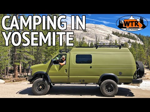 How to Get a First Come First Served Spot at Yosemite   Van Life S2:E19