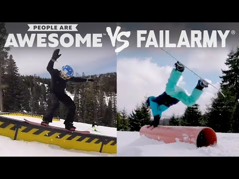 Wipeout or Win?   People Are Awesome Vs. FailArmy!