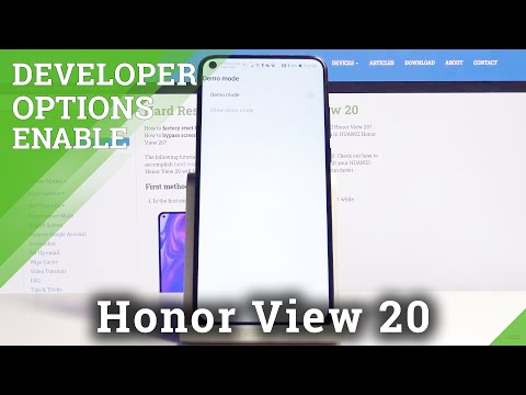 How to Enable Demo Mode in Honor View 20 - Developer Options