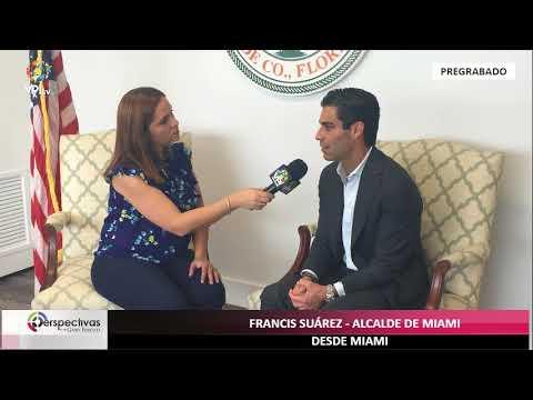 Perspectivas con Gaby Perozo - Entrevista a Francis Suárez, alcalde de Miami VPItv