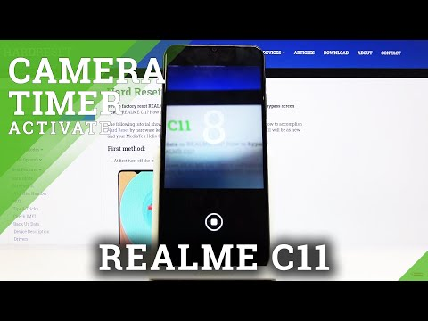 How to Turn On Camera Timer in REALME C11 - Set Countdown