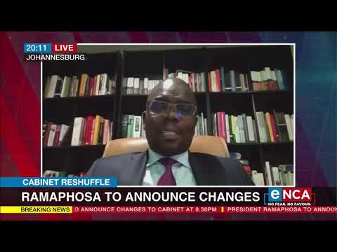 Ramaphosa to announce changes