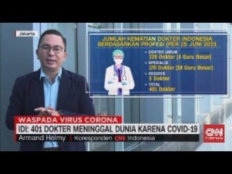 401 Dokter Meninggal Dunia Karena Covid-19