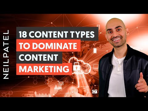 18 Content Types to Dominate Content Marketing - Module 2 - Lesson 1 - Content Marketing Unlocked