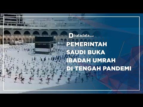 Pemerintah Saudi Buka Ibadah Umrah di Tengah Pandemi | Katadata Indonesia