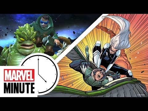 Mole Man Joins Marvel Contest of Champions!   Marvel Minute