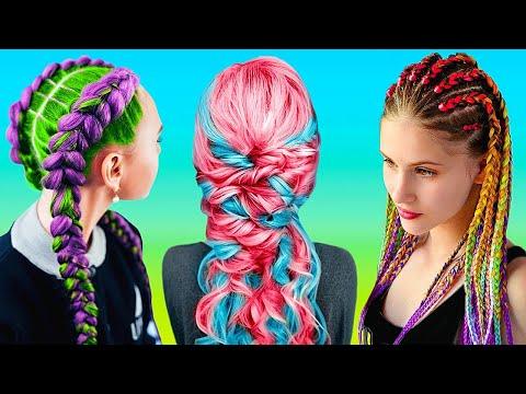 PERFECT BRAIDS || Hair Hacks, Transformations, and Hair Growth Tricks