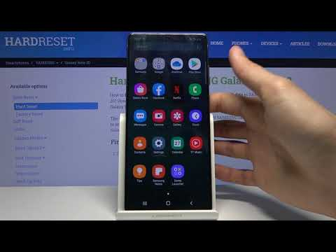 How to Record Screen in SAMSUNG Galaxy Note 20 – Use Screen Recorder