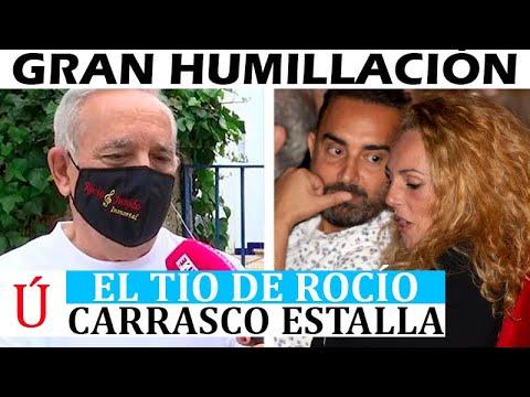 """""""Es una marioneta de Fidel"""" El tío de Rocío Carrasco destapa la gran mentira de Rociito"""