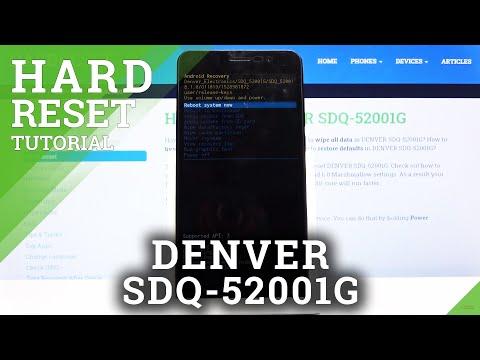 How to Hard Reset DENVER SDQ-52001G - Remove Screen Lock / Delete Data