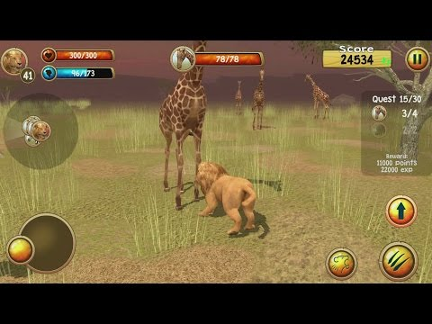 Wild Lion Simulator 3D Android Gameplay #6